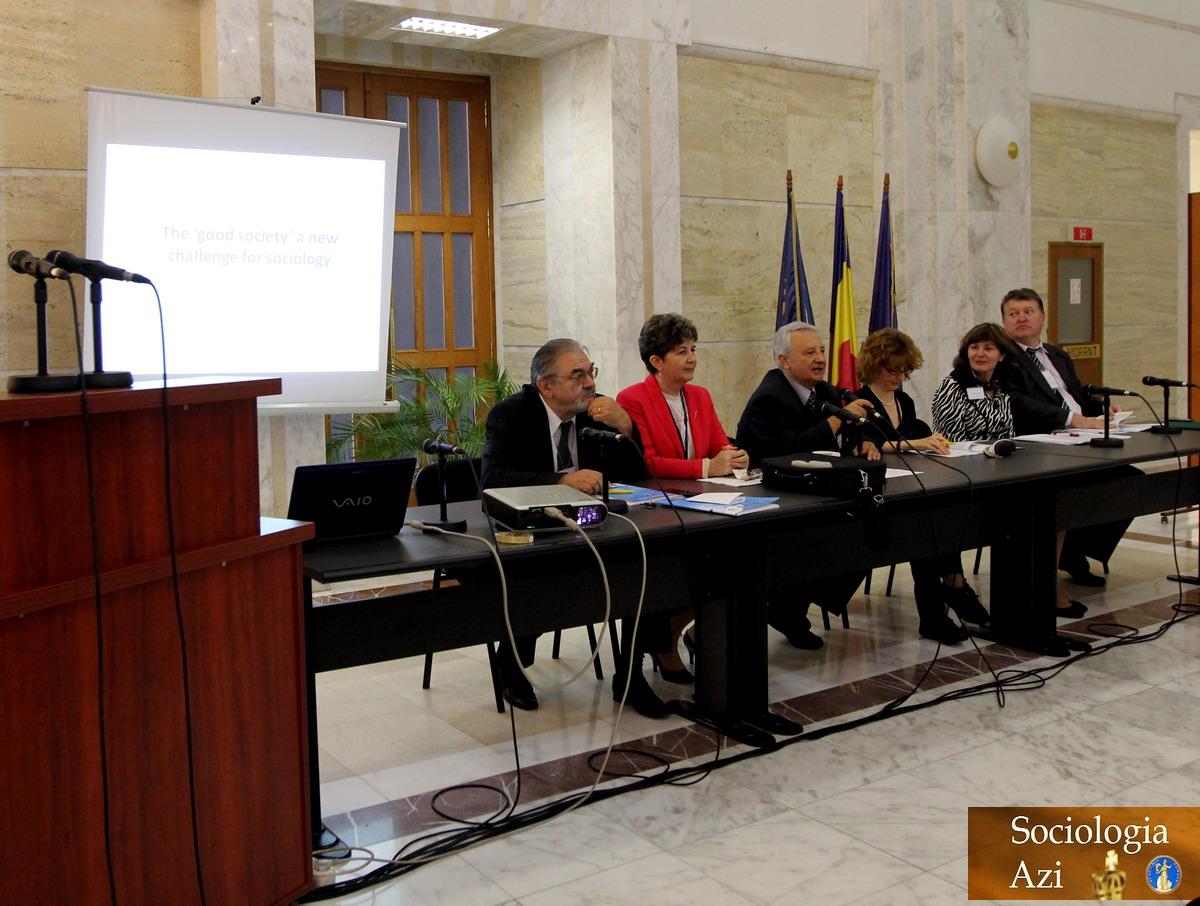 Conferinta Internationala Sociologie Casa Academiei Romane - Ilie Badescu Sociologia Azi 10.2013