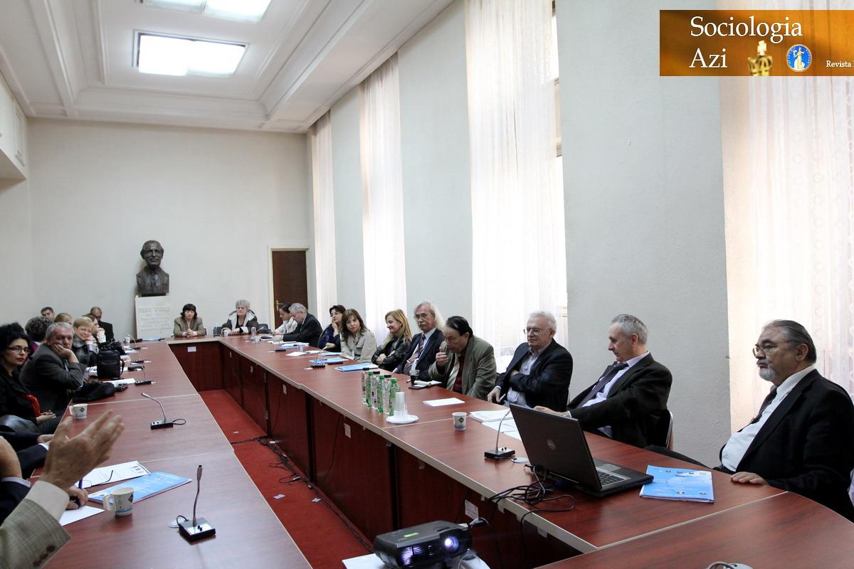 Conferinta Internationala Sociologie Casa Academiei Romane - Ilie Badescu Sociologia Azi Oct 2013