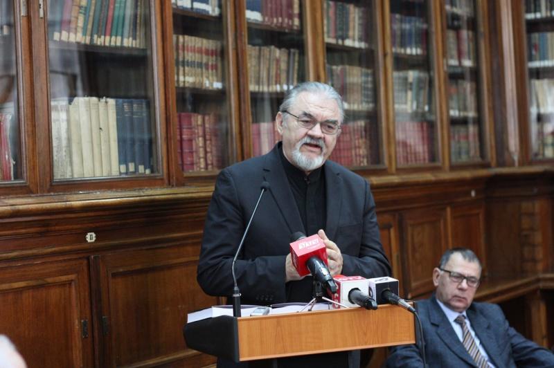 Ilie Badescu si Ioan Popa la Craiova - Lansare la Biblioteca Alexandru si Aristia Aman - Decembrie 2015