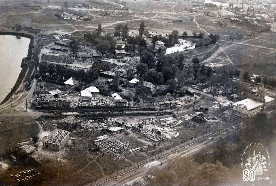Constructia Muzeului National al Satului Dimitrie Gusti