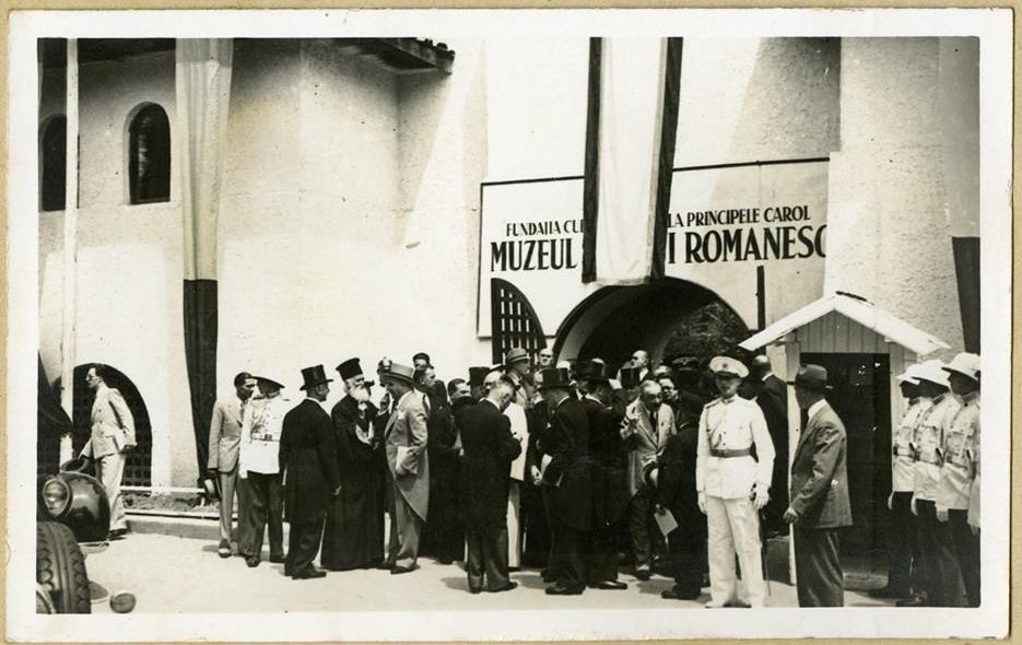 Inaugurarea Muzeului National al Satului Dimitrie Gusti