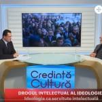"""Profesorul Ilie Bădescu la Trinitas TV cu teologul Vasile Bănescu despre """"Drogul intelectual al ideologiei"""". VIDEO – Credință și Cultură (16 04 2018)"""
