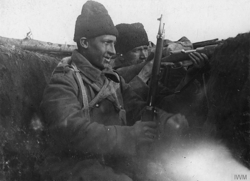 Soldati Romani la 1918