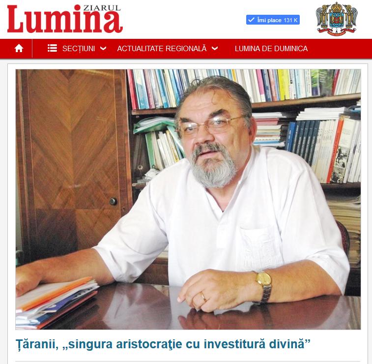 Ilie Badescu Lumina Taranii Academia Romana