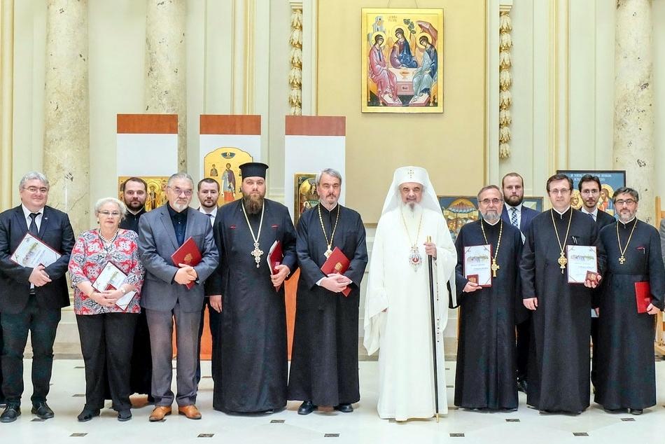 Profesorul Ilie Badescu de la Academia Romana distins de Patriarhul Bisericii Ortodoxe Romane, PF Daniel 2018 Ziarul Lumina Patriarhie