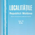 """O valoroasă lucrare enciclopedică: """"Localităţile Republicii Moldova"""""""